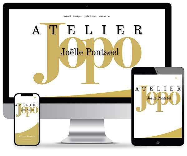 Sitio web Atelier Jopo