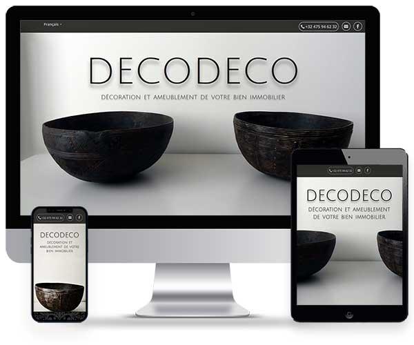 Sitio web de DecoDeco