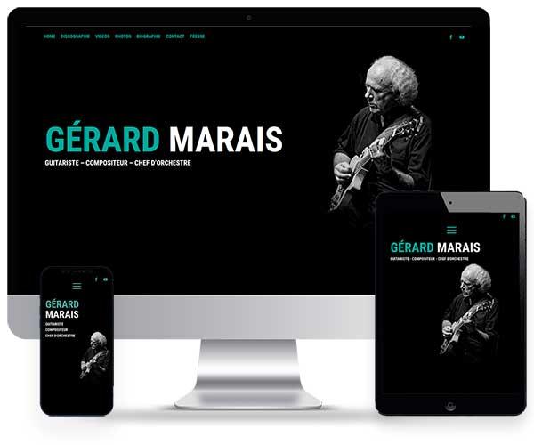 Sitio web de Gerard Marais