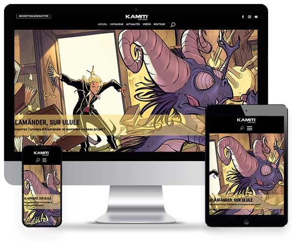 Kamiti Edition Editorial de cómics